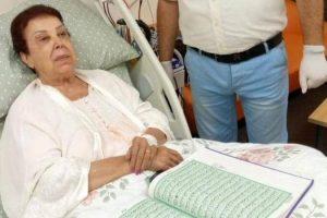 مستشفى العزل الصحي تنفي شائعة وفاة رجاء الجداوي