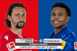 يلا شوت مشاهدة بث مباشر مباراة شالكه ويونيون برلين اليوم الأحد 7-6-2020 في الدوري الألماني