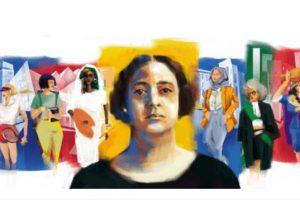 جوجل يحتفل بذكرى الـ 141 لميلاد هدى شعراوي