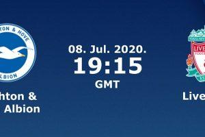 يلا شوت مشاهدة بث مباشر مباراة برايتون وليفربول اليوم الأربعاء 8-7-2020 في الدوري الإنجليزي الممتاز