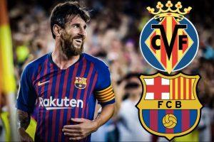 قناة مفتوحة تنقل مشاهدة مباراة برشلونة وفياريال بث مباشر مجانا علي النايل سات في الدوري الإسباني