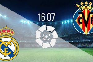 يلا شوت مشاهدة بث مباشر مباراة ريال مدريد وفياريال اليوم الخميس 16-7-2020 في الدوري الإسباني
