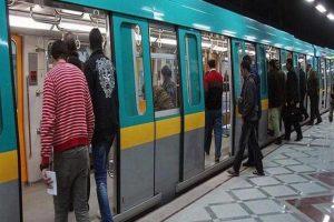 عودة حركة قطارات المترو بالخط الأول لحين إصلاح عطل غمرة