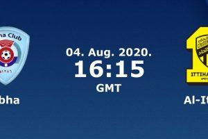 نتيجة وملخص اهداف مباراة الاتحاد وأبها اليوم 4-8-2020 يلا شوت الجديد إتحاد جدة في الدوري السعودي