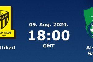 نتيجة وملخص أهداف مباراة الاتحاد والأهلي اليوم 9-8-2020 يلا شوت الجديد في الدوري السعودي للمحترفين