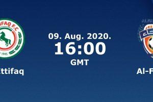 يلا شوت مشاهدة بث مباشر مباراة الاتفاق والفيحاء اليوم الأحد 9-8-2020 في الدوري السعودي للمحترفين