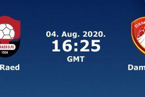 يلا شوت مشاهدة بث مباشر مباراة الرائد وضمك اليوم الثلاثاء 4-8-2020 في الدوري السعودي للمحترفين