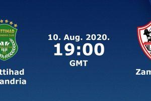يلا شوت مشاهدة بث مباشر مباراة الزمالك والاتحاد السكندري اليوم الإثنين 10-8-2020 في الدوري المصري الممتاز