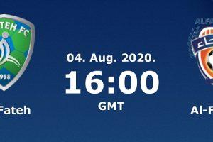 يلا شوت مشاهدة بث مباشر مباراة الفتح والفيحاء اليوم الثلاثاء 4-8-2020 في الدوري السعودي للمحترفين
