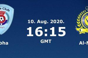 يلا شوت مشاهدة بث مباشر مباراة النصر وأبها اليوم الإثنين 10-8-2020 في الدوري السعودي للمحترفين