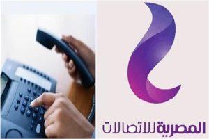 رابط الاستعلام عن فاتورة التليفون الأرضي يوليو 2020 للمصرية للاتصالات WE