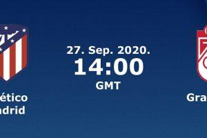 يلا شوت مشاهدة بث مباشر مباراة أتلتيكو مدريد وغرناطة اليوم الأحد 27-9-2020 في الدوري الإسباني