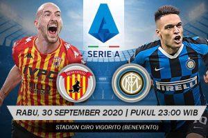 يلا شوت مشاهدة بث مباشر مباراة إنتر ميلان وبينيفينتو اليوم الأربعاء 30-9-2020 في الدوري الإيطالي