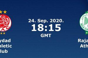الشوط الثاني مشاهدة مباراة الرجاء والوداد البيضاوي بث مباشر اليوم 24-9-2020 يلا شوت الجديد في الدوري المغربي