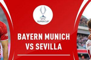 يلا شوت قناة مفتوحة تنقل مشاهدة مباراة بايرن ميونخ وإشبيلية بث مباشر مجانًا اليوم 24-9-2020 في كأس السوبر الأوروبي