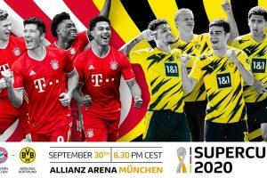 مشاهدة مباراة بايرن ميونخ وبروسيا دورتموند بث مباشر اليوم 30-9-2020 يلا شوت الجديد في كأس السوبر الألماني