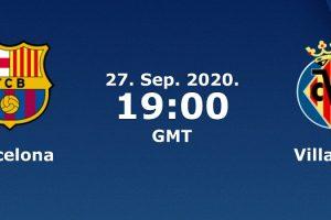 يلا شوت مشاهدة بث مباشر مباراة برشلونة وفياريال اليوم الأحد 27-9-2020 في الدوري الإسباني