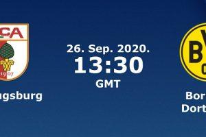 يلا شوت مشاهدة بث مباشر مباراة بوروسيا دورتموند وأوجسبورج اليوم السبت 26-9-2020 في الدوري الألماني
