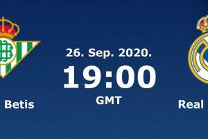 يلا شوت مشاهدة مباراة ريال مدريد وريال بيتيس بث مباشر اليوم 26-9-2020 في الدوري الإسباني