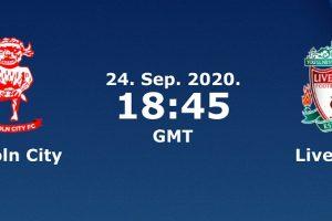 نتيجة وملخص أهداف مباراة ليفربول ولينكولن سيتي اليوم 24-9-2020 في كأس الرابطة الإنجليزية