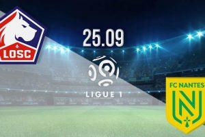 نتيجة وملخص اهداف مباراة ليل ونانت اليوم 25-9-2020 في الدوري الفرنسي