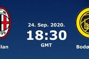 يلا شوت مشاهدة بث مباشر مباراة ميلان وبودو غليمت اليوم الخميس 24-9-2020 في تصفيات الدوري الأوروبي