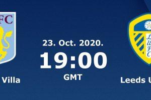 يلا شوت مشاهدة بث مباشر مباراة أستون فيلا وليدز يونايتد اليوم الجمعة 23-10-2020 في الدوري الإنجليزي الممتاز