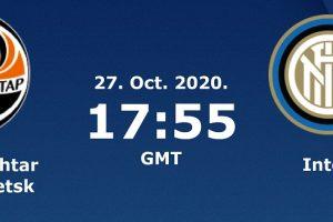 يلا شوت مشاهدة مباراة إنتر ميلان وشاختار بث مباشر اليوم 27-10-2020 في دوري أبطال أوروبا