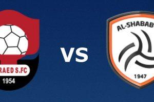 يلا شوت مشاهدة بث مباشر مباراة الشباب والرائد اليوم الجمعة 23-10-2020 في الدوري السعودي للمحترفين