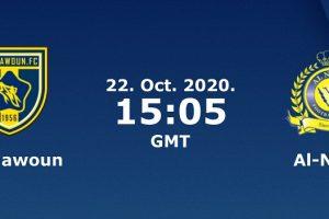 يلا شوت الجديد مشاهدة مباراة النصر والتعاون بث مباشر اليوم 22-10-2020 في الدوري السعودي للمحترفين