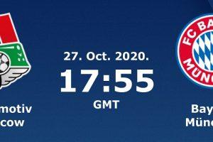 يلا شوت مشاهدة مباراة بايرن ميونخ ولوكوموتيف موسكو بث مباشر اليوم 27-10-2020 في دوري أبطال أوروبا