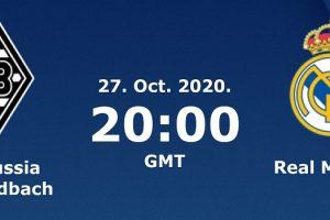روابط مشاهدة مباراة ريال مدريد وبروسيا مونشنغلادباخ بث مباشر اليوم 27-10-2020 يلا شوت الجديد في دوري أبطال أوروبا