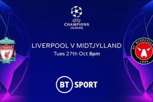 مشاهدة مباراة ليفربول وميتلاند بث مباشر اليوم 27-10-2020 يلا شوت الجديد  في دوري أبطال أوروبا