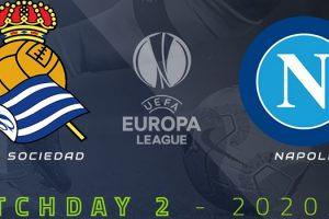 يلا شوت مشاهدة بث مباشر مباراة نابولي وريال سوسيداد اليوم الخميس 29-10-2020 في الدوري الأوروبي