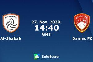 نتيجة وملخص أهداف مباراة الشباب وضمك اليوم  27-11-2020 في الدوري السعودي للمحترفين