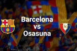 يلا شوت مشاهدة مباراة برشلونة وأوساسونا بث مباشر اليوم 29-11-2020 في الدوري الإسباني