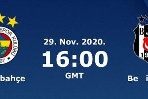 يلا شوت مشاهدة بث مباشر مباراة فنربخشة وبشكتاش اليوم الأحد 29-11-2020 في الدوري التركي