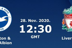 نتيجة وملخص أهداف مباراة ليفربول وبرايتون اليوم 28-11-2020 في الدوري الإنجليزي